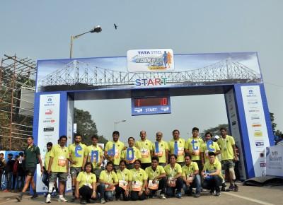 Endolite India team takes part in Kolkatta Marathon 2015